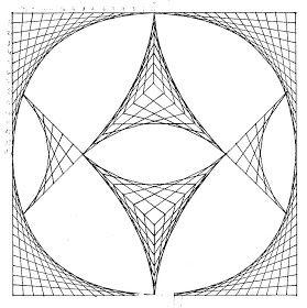 El Blog De La Profe Ilusiones Lineales Arte De Geometria Mandala Art Arte De Matematicas