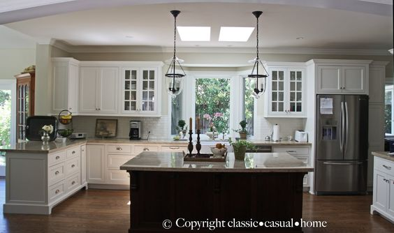 Polished casual decorating ideas google search kitchen for Casual home kitchen island