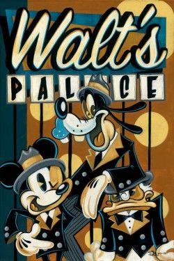 Disney, 30s, gangster style.