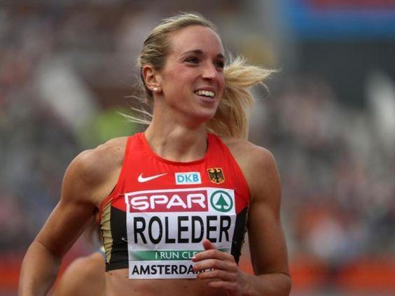 cindy roleder | Cindy Roleder hat sich über 100 Meter Hürden den Sieg geholt.