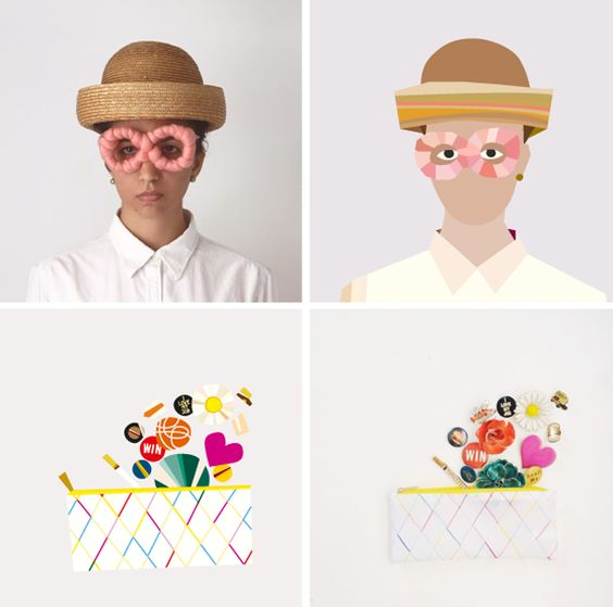 Instamissimo: fotos do Instagram são ilustradas por Asia Pietrzyk.