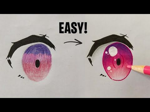 How To Color Anime Eyes With Pencils Important Tips For Beginners Youtube Anime Eyes Anime Eye Drawing Color Pencil Sketch