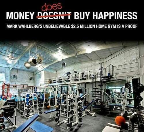 Home gym mark wahlberg  Mark Wahlberg's home gym... I'd be in there with him ERRYday ...