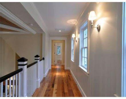 Hallway above Living Room