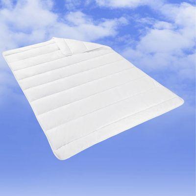 <p>Dieser Artikel ist NUR ONLINE erhältlich!</p><p>Diese flauschig weiche Steppdecke in Weiß macht auch Ihr Bett zur wahren Wohlfühloase. Die ca. 135 x 200 cm (B x L) große Decke aus 65 % Polyester und 35 % Baumwolle ist dank Vliesfüllung anschmiegsam und besonders kuschelig. Zudem ist die Steppdecke schadstoffgeprüft, kann bis 60° C in der Maschine gewaschen werden und ist trocknergeeignet.</p><p>Eine ebenso praktische wie gemütliche Steppdecke für Ihr Bett!</p>