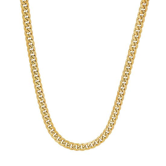 10k Gold 14k Gold 24 Inch Hollow Curb Chain Necklace Jcpenney Jcpenney Mayisgoldmonth Gold Hoops Goldearr Gold Chains For Men 10k Gold Chain Gold Chains
