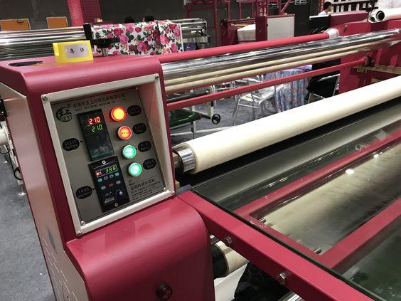 roller heat press machine