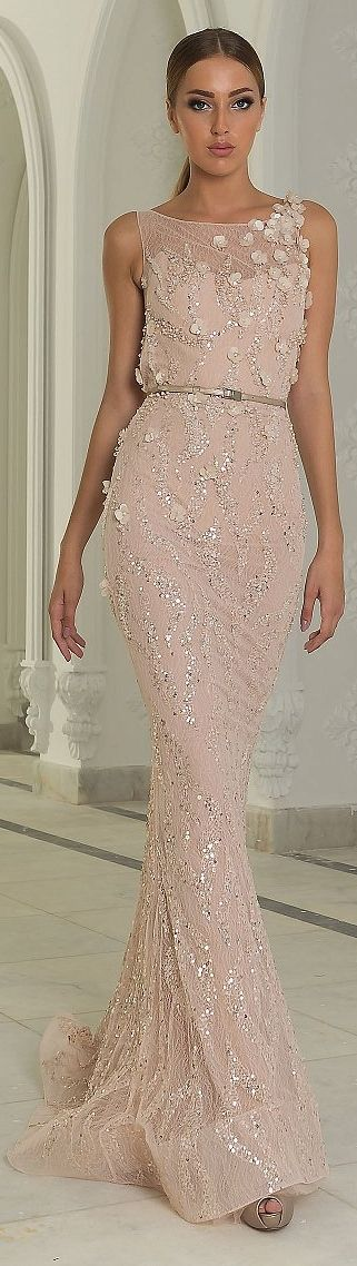 Abed Mahfouz Couture Есен / Зима 2014-2015 г. - Luxurydotcom