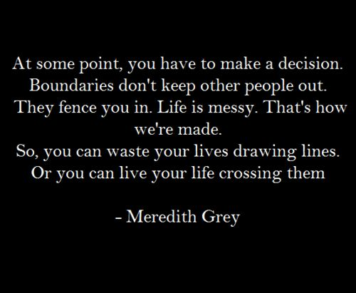 13 Meredith Grey quotes to help you though life.