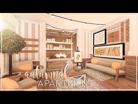 Autumnal Apartment Bloxburg Speedbuild Nixilia Youtube Aesthetic Living Room Cute Living Room House Decorating Ideas Apartments Living room bloxburg house inside