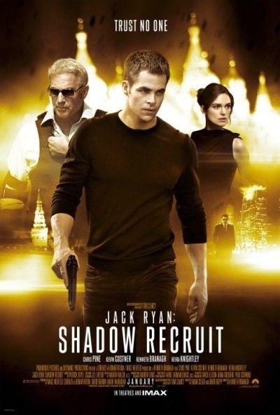 Jack Ryan Shadow Recruit 2014 Orig D S 27x40 Regular Movie Poster Chris Pine Ebay In 2021 Jack Ryan Shadow Recruit Kevin Costner Chris Pine