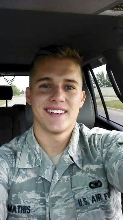 Look at this adorable face!!! U.S. Air Force Corpsman