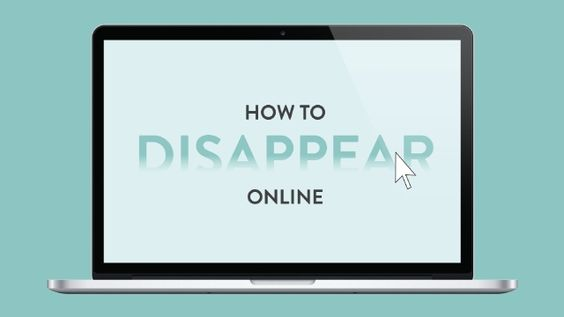 This Infographic Shows You How to Delete Yourself from the Internet // or just certain areas of your online existence - may want to do this one day // another option is to simply use a fake identity