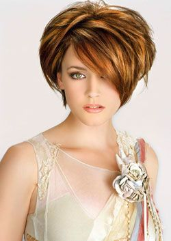 peinados de moda peinados cortos de gala