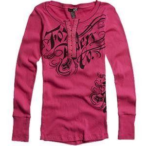 Fox Racing Women's Savvy Long Sleeve Henley Shirt - Medium/Fuchsia by Fox Racing, http://www.amazon.com/dp/B008FKA0ZC/ref=cm_sw_r_pi_dp_OokMqb1DQ7M87