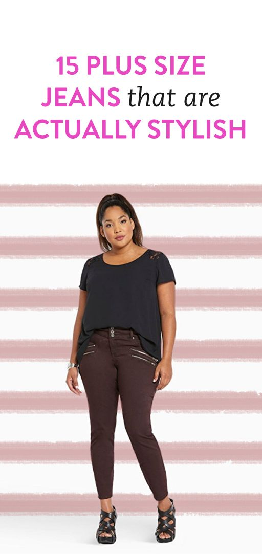 15 Plus Size Jeans Size 26 & Up For Every Style
