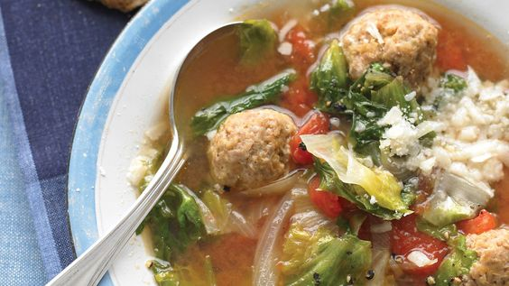 When meatballs meet soup, the result is a total crowd-pleaser. Serve up one of our favorite recipes, and remember -- these should be eaten with both a fork and a spoon.