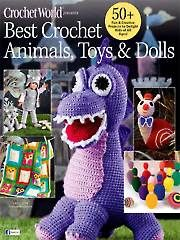 Best Crochet Animals, Toys & Dolls crochet patterns download-- Includes darling crochet outfits for 18-inch and 5-inch purchased dolls. Order download from Annie's here: https://www.anniescatalog.com/detail.html?prod_id=113272&cat_id=414