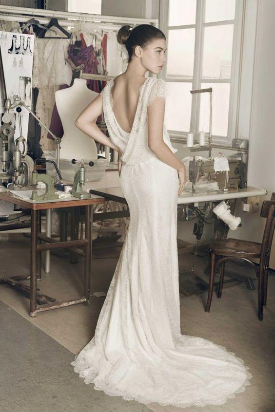 vestido de noiva sexy com top em manga curta de atelier cymbeline 2016