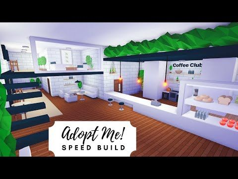 Tree House Plant Cafe Home Speed Build Roblox Adopt Me Youtube Tree House Futuristic Home Home Roblox