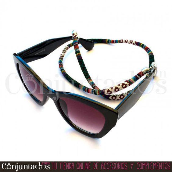 Irresistible #cordón para #gafas #unisex #étnico - Modelo #Dublín ★ 5,95 € en http://www.conjuntados.com/es/otros/cordones-para-gafas.html ★ #novedades #cuelgagafas #eyewear #sunglasses #gafasdesol #cord #lowcost #fashion #moda #mode #cotton #algodon #conjuntados #conjuntada #accesorios #complementos #fashionadicct #picoftheday #estilo #style #GustosParaTodas #ParaTodosLosGustos