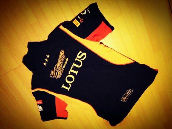 Lotus F1 team 2013 polo☆Kimi Raikkonen
