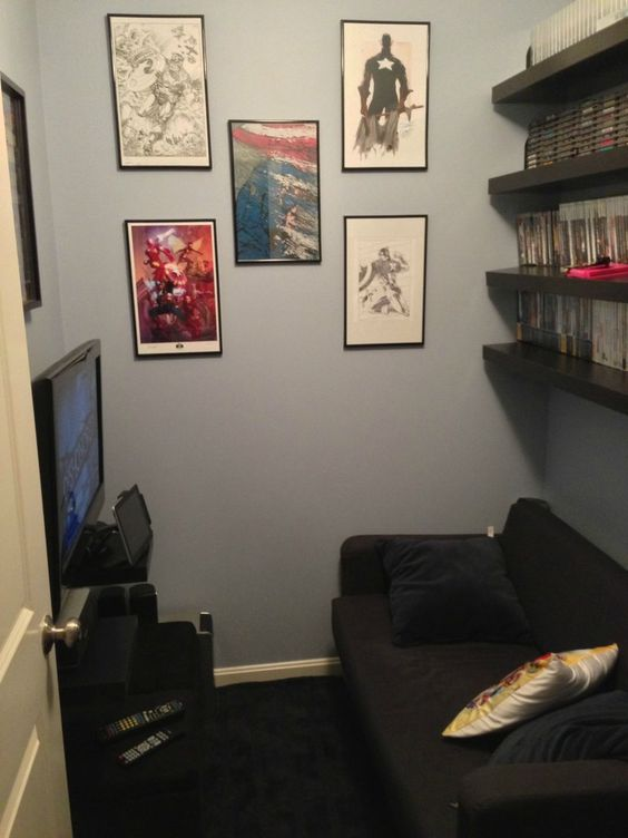 Ikea furniture for a small game room album game room - Game room ideas for small rooms ...