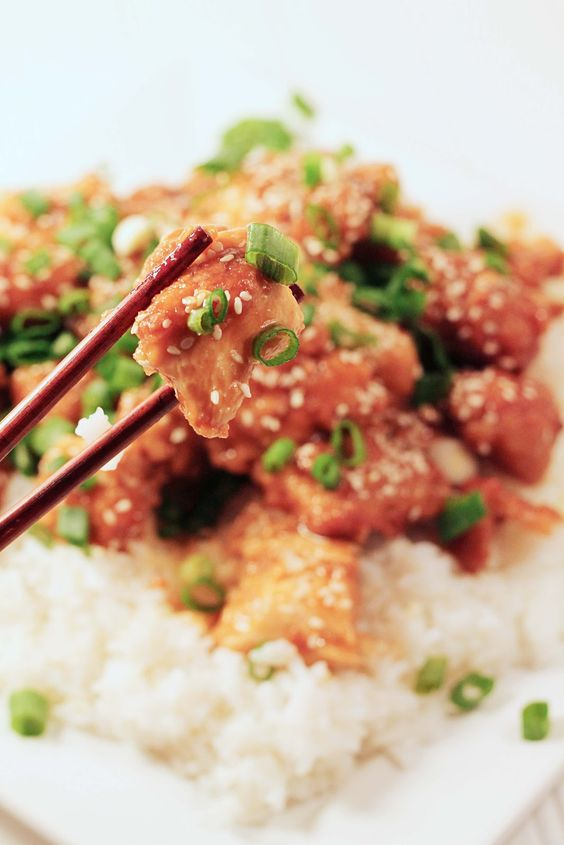 baked in the south: Sesame Chicken