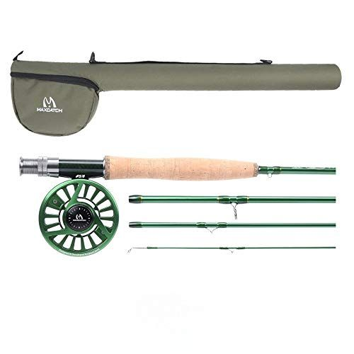 Maxcatch Premier Fly Fishing Rod With Avid Fly Reel Includes Rod Case 3 4 5 6 7 8wt Model03 9ft 7wt 7 8wt Fly Fishing Rods Fly Reels Fish