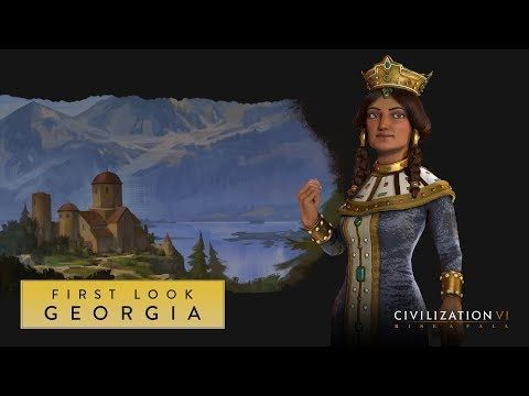 Civilization Vi Rise And Fall First Look Georgia Civilization Vi Civilization Civilization Beyond Earth