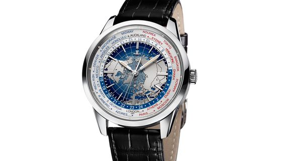 The new Jaeger-LeCoultre Geophysic collection is the horological equivalent of a gateway drug: At first glance, its signa