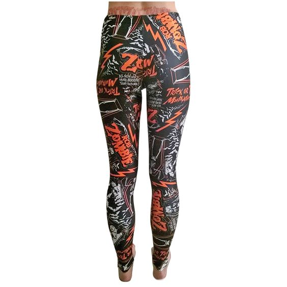 Webstore Exclusive leggings with sublimated custom artwork. Material is 80% Polyamide 20% Spandex. Wash on low temperature, do not tumble dry. Made in England.