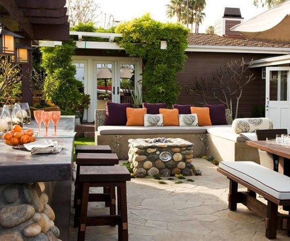 Diy patio ideas on a budget backyard pinterest home for Patio on a budget ideas