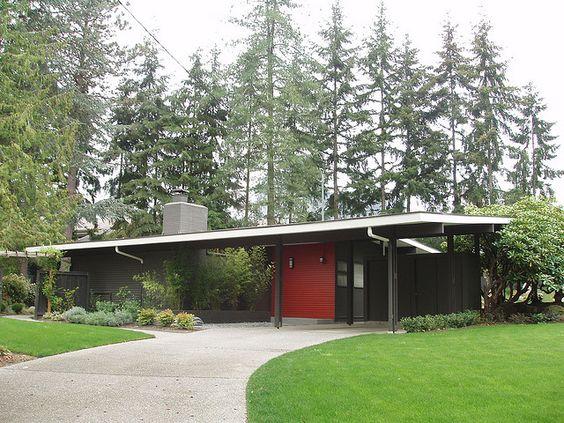 mid century modern or atomic ranch house mid century