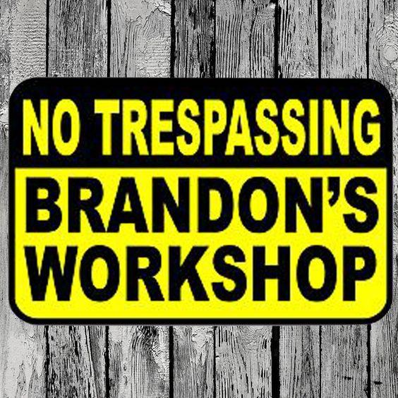 No Trespassing Sign - 12x18 $19.95