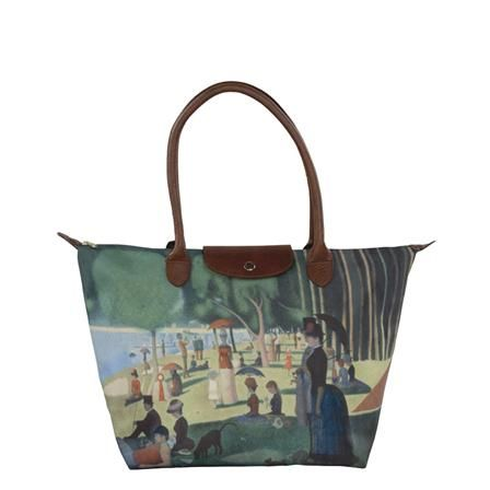 "Galleria La Grande Jatte """"Seurat"""" Tote bag, $28 !!:"