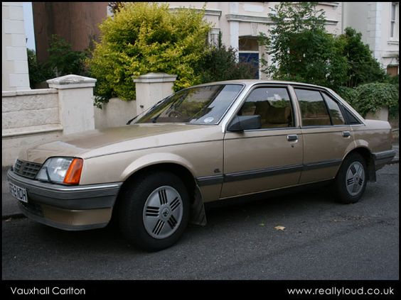 Vauxhall Carlton 1987-1989. Reg E859 DPU