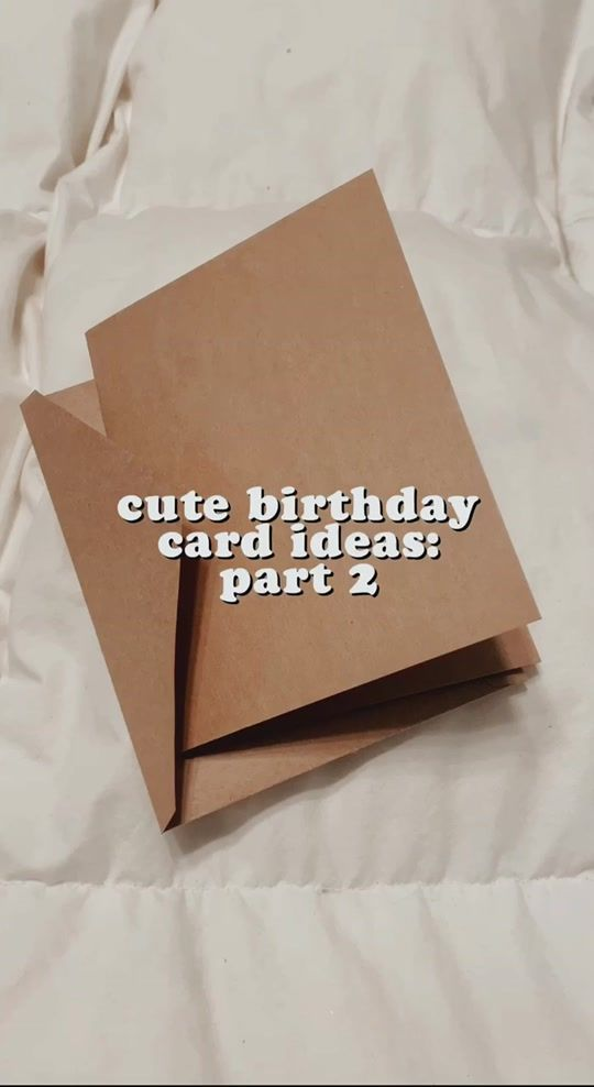 More Birthday Card Ideas Art Stationery Tiktokrestarea Aesthetic Journal Smallbusiness Moms In 2021 Birthday Card Drawing Cute Birthday Cards Birthday Cards