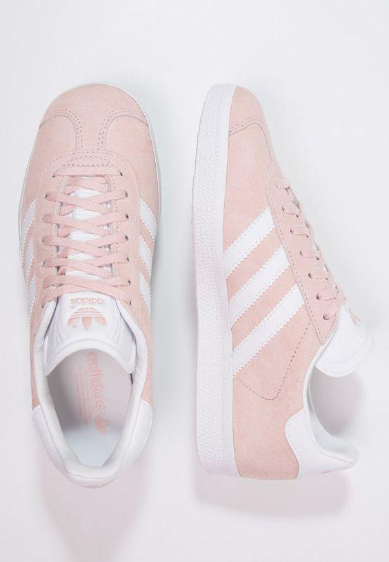 Köp adidas Originals GAZELLE - Sneakers - vapour pink/white/gold metallic för 999,00 kr (2017-02-17) fraktfritt på Zalando.se