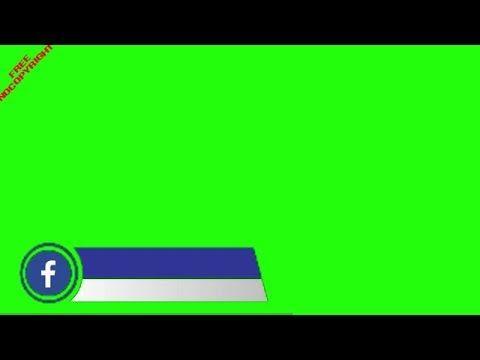 Green Screen Facebook Logo Facebook Logo Banner With Green Screen Nocopyright Logo Facebook Logo Banners Greenscreen
