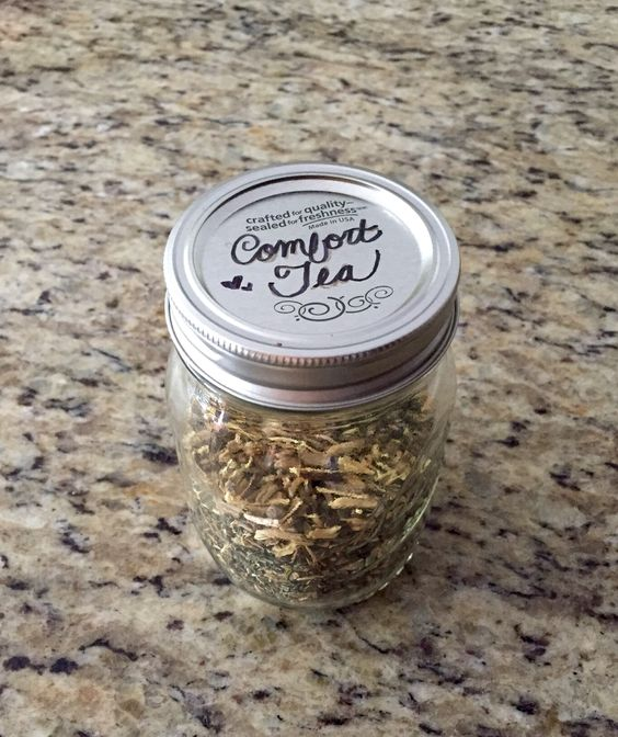 "See my blog for my ""Comfort Tea"" loose tea recipe. Tastes exactly like Aveda relaxation tea!"