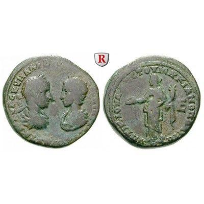 Römische Provinzialprägungen, Thrakien-Donaugebiet, Markianopolis, Severus Alexander, 5 Assaria 227-229, s-ss: Thrakien-Donaugebiet,… #coins