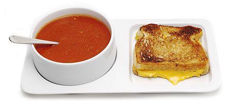 Tomato congac soup