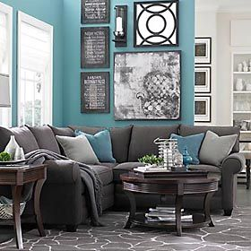 L Shaped Sectional Living Room Grey Living Room Color Home