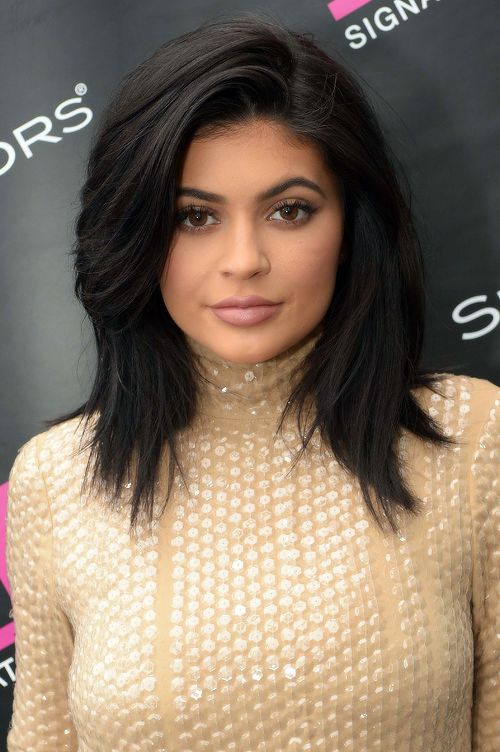 Kylie Jenners hair on this