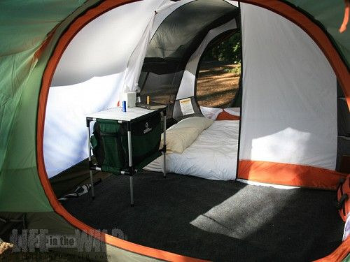 REI Kingdom 6 Tent Review - living and bedroom separation | c&ing | Pinterest | Tent reviews and Tents & REI Kingdom 6 Tent Review - living and bedroom separation ...