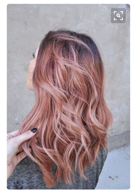 Forever in love with rose gold: