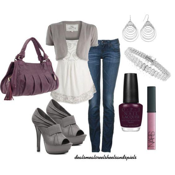 greys and purples