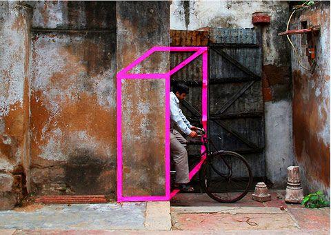 masking tape art / aakash nihalani