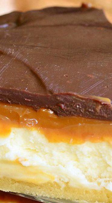 Twix Cheesecake Pie | Recipe | Cheesecake, Cheesecake pie and Pies